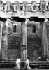 Duomo di Siracusa: veduta del colonnato dorico del preesistente tempio di Athena (V sec. a.C.)  - Siracusa (10180 clic)