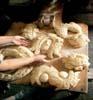 Santa Croce Camerina - (RG) - Preparazione dei pani di S.Giuseppe  - Santa croce camerina (5945 clic)