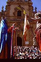 Pasqua a Modica - festa della Madonna Vasa Vasa  - Modica (2969 clic)