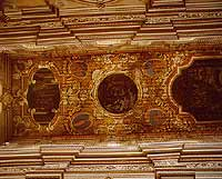 soffitto ligneo della Chiesa di San Filippo Neri adiacente al convento dei Padri Filippini, trovasi a Comiso in Via degli Studi 24.   - Comiso (7066 clic)
