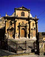 Ragusa Ibla - Chiesa delle Anime del Purgatorio  - Ragusa (4543 clic)