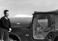 Etna vista da Paternò - 1957  - Paternò (3309 clic)