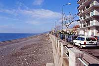 Lungomare, Via Marina  - Alì terme (9929 clic)