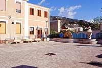 Piazza Nino Prestia, vista lungomare  - Alì terme (9237 clic)