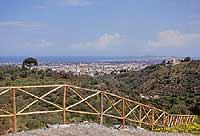 panorama. vista dal parco jalari BARCELLONA POZZO DI GOTTO Giambattista Scivoletto