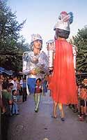 Festa della Madonna della Luce  - Il ballo dei Giganti  - Mistretta (20387 clic)
