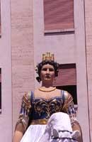 MATA - LA GIGANTESSA - FONDATRICE CON GRIFONE DELLA CITTA' DI MESSINA - festa del 15 agosto  - Messina (16378 clic)