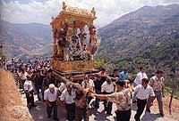 Festa di San Lorenzo  - Frazzanò (23388 clic)