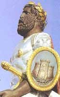 Vara dei Giganti - particolare di GRIFONE compagno di mata  - Messina (6842 clic)
