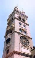 Duomo di Messina - il campanile - particolare dell'orologio astronomico  - Messina (10466 clic)