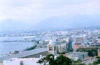 Panorama - Il porto visto dal Fortino dei Castriciani  - Milazzo (6249 clic)