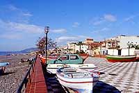 Il lungomare   - Nizza di sicilia (12575 clic)