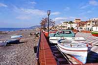 Tratto di lungomare, posto alla fine di via Lamarmora  - Nizza di sicilia (8963 clic)
