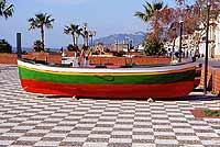 Il lungomare -  Barca di Cafarella  - Nizza di sicilia (10255 clic)