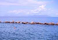 Specchio di mare antistante i lidi di Marina di Patti  - Patti (7036 clic)