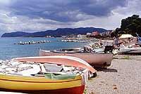 Patti Marina - La spiaggia con Capo Tindari all'orizzonte  - Patti (7862 clic)