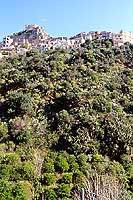 Scaletta Superiore con il Castello Rufo Ruffo  - Scaletta zanclea (7271 clic)