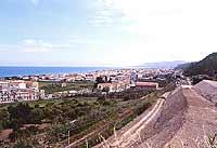 Panorama dall'autostrada messina-palermo SPADAFORA Giambattista Scivoletto