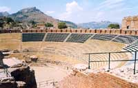 Cavea e summa cavea del Teatro Antico  - Taormina (10440 clic)