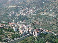 Panorama di Mongiuffi e Melia  - Mongiuffi melia (10967 clic)