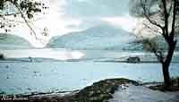 Prima neve sul Lago PIANA DEGLI ALBANESI Nico Bastone