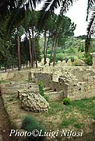 gli scavi - Le terme  - Piazza armerina (5354 clic)