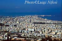panorama visto dalla statale per Erice  - Trapani (21200 clic)