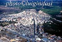 Panorama aereo di Francofonte  - Francofonte (5658 clic)