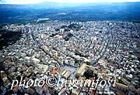 Panorama aereo di Francofonte  - Francofonte (5592 clic)
