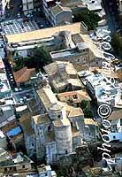 Panorama aereo di Francofonte - La Chiesa Madre (Matrice)  - Francofonte (16570 clic)