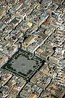 Panorama aereo di Pachino - piazza V.Emanuele, vista diagonale da sud-est  - Pachino (6657 clic)