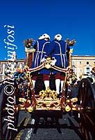 Festa di Sant'Agata - carrozza del Senato  - Catania (2236 clic)