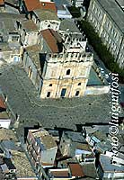Panorama aereo di Sortino - Chiesa Madre - San Giovanni Apostolo  - Sortino (7459 clic)