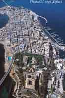 Veduta di Augusta isola dall'alto  - Augusta (12885 clic)