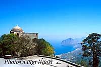 Panorama del golfo di Cofano da San Cataldo  - Erice (8404 clic)