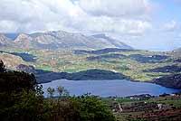 Lago Rosamarina - formatosi con la creazione di una diga artificiale  - Caccamo (12733 clic)
