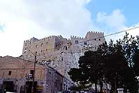 Castello di Caccamo, visto dal belvedere  - Caccamo (5153 clic)