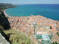 Panorama di Cefalù dalla Rocca  - Cefalù (6333 clic)