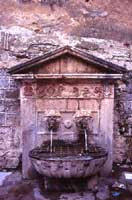 A funtana di ru cannola (La fontana dei due cannoli)  - Collesano (5660 clic)