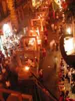 Festa di Santa Rosalia a Palermo (luglio 2001)  - Palermo (2403 clic)