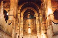 il cristo pantocratore della cattedrale  - Monreale (11158 clic)