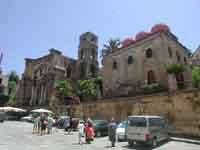 Chiesa di S.Maria dell'Ammiraglio (o Martorana) e chiesa di San Cataldo PALERMO Giambattista Scivole