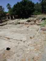 Resti di casa romana a villa Bonanno PALERMO Giambattista Scivoletto