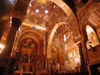 Abside e transetto della Cappella Palatina (a Palazzo Reale) PALERMO Giambattista Scivoletto