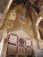 Sedes Regi (la sedia del Re) nella Cappella Palatina PALERMO Giambattista Scivoletto