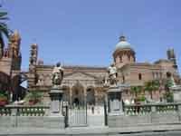 la cattedrale vista da corso vittorio emanuele PALERMO Giambattista Scivoletto