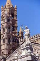 Cattedrale di Palermo - statua di Santa Rosalia PALERMO Giuseppe Iacono