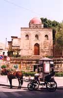 Chiesa di San Cataldo e carrozzella PALERMO Giambattista Scivoletto