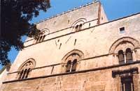 PALAZZO CHIARAMONTE O STERI 1320 - piazza Marina - Quartiere Tribunali Castellammare PALERMO Giamba