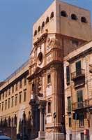 CHIESA S.MARIA DI MONTE OLIVETO - 1512 - via dell'Incoronazione - Quartiere Palazzo Reale Monte Pietà  - Palermo (5075 clic)